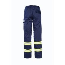 AML02- Pantalone invernale multinorma blu con bande rifrangenti