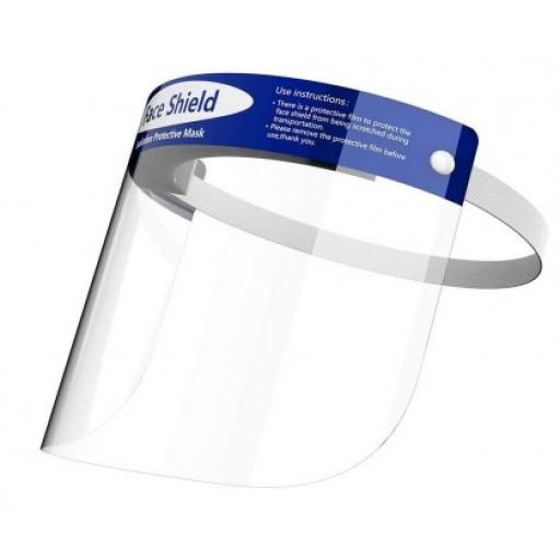 WJ2004 - Visiera facciale per protezione contro schizzi