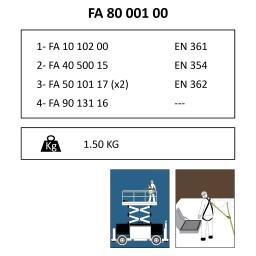 FA 80 001 00 Kit di mantenimento