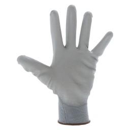GU3001 - Guanto sintetico spalmato in poliuretano di colore grigio