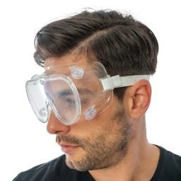 YM03 - Occhiali a mascherina protettivi con elastico